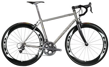 Lovely The Completely Bespoke And Handmade Titanium Axiom SLX Is Sevenu0027s Lightest  Frame, And One Of The Lightest You Can Buy Anywhere, Yet It Is Priced ...