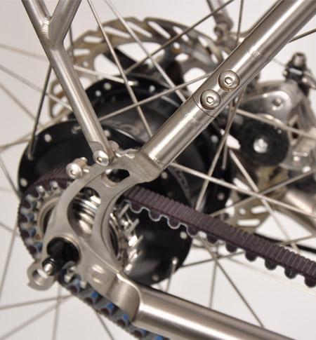 Belt Drive Bike >> Seven Cycles Belt Drive Option