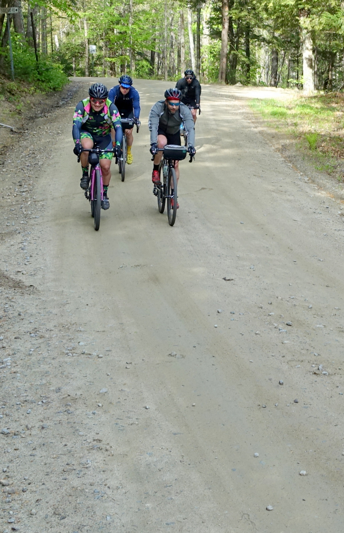 Evergreen Gravel Race Leaders