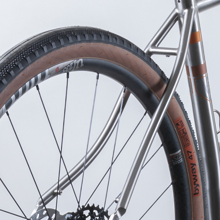 Curved Seat Stays